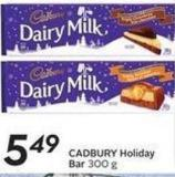 Cadbury Holiday Bar 300 g