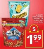 Christie Bits & Bites - Crispers Or Ritz Chips