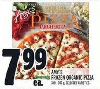 Amy's Frozen Organic Pizza