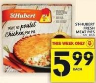 St-hubert Fresh Meat Pies