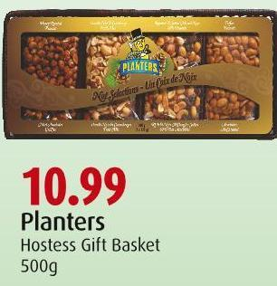 Planters Hostess Gift Basket 500g