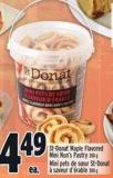 St-donat Maple Flavored Mini Nun's Pastry 300 g