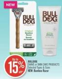 Bulldog Shave or Skin Care Products