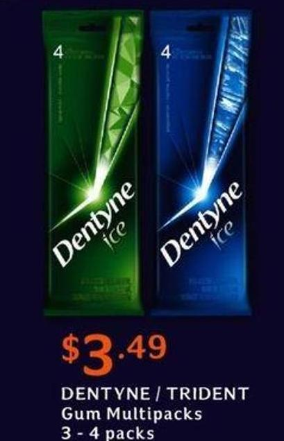 Dentyne / Trident GUM Multipacks