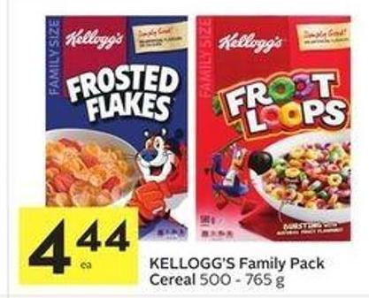 Kellogg's Family Pack Cereal
