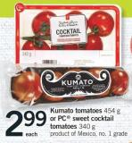 Kumato Tomatoes - 454 G Or PC Sweet Cocktail Tomatoes - 340 G