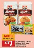 Hersheys Chipits - 226-300 G Or Quaker Muffin - 900 G