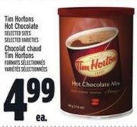 Tim Hortons Hot Chocolate
