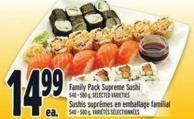 Family Pack Supreme Sushi
