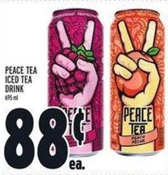 Peace Tea Iced Tea Drink