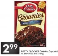 Betty Crocker Cookies - Cupcakes or Brownies