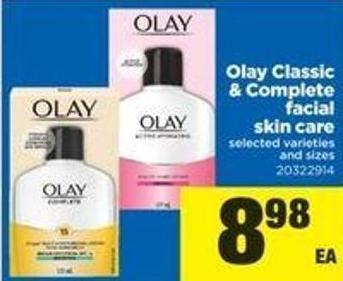 Olay Classic & Complete Facial Skin Care