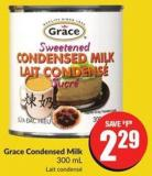 Grace Condensed Milk 300 mL