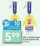 Mr. Clean Clean Freak Starter Kit 473 mL - 10 Air Miles Bonus Miles