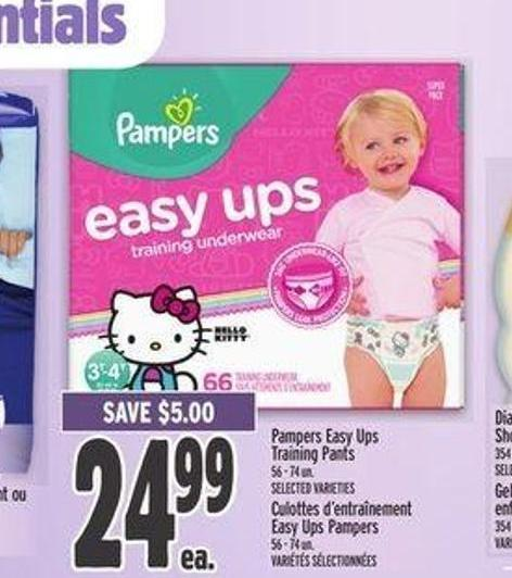 Pampers Easy-ups Training Pants