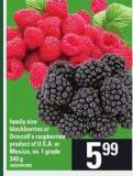 Blackberries Or Driscoll's Raspberries - 340 g