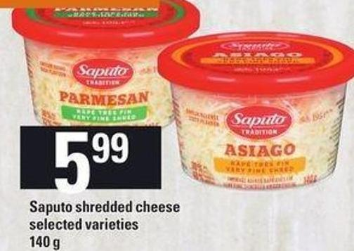 Saputo Shredded Cheese