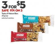 Taste of Nature Bars 40g Bar