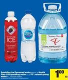 Sparkling Ice Flavoured Water 503 mL or Nestlé Pure Life Sparkling Water 1 L or PC Natural Spring Water 4 L