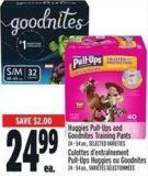 Huggies Pull-ups And Goodnites Training Pants 24 - 54 Un. -