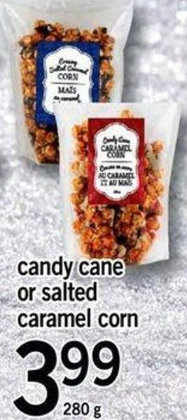 Candy Cane Or Salted Caramel Corn - 280 G