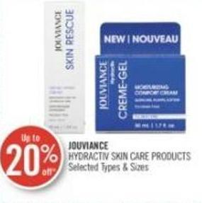 Jouviance Hydractiv Skin Care Products