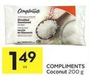 Compliments Coconut
