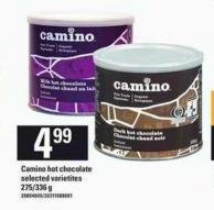 Camino Hot Chocolate - 275/336 g
