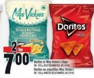 Doritos Or Miss Vickie's Chips 185 - 255 g