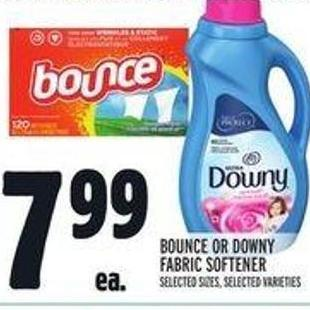 Bounce Or Downy Fabric Softener