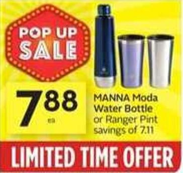 Manna Moda Water Bottle