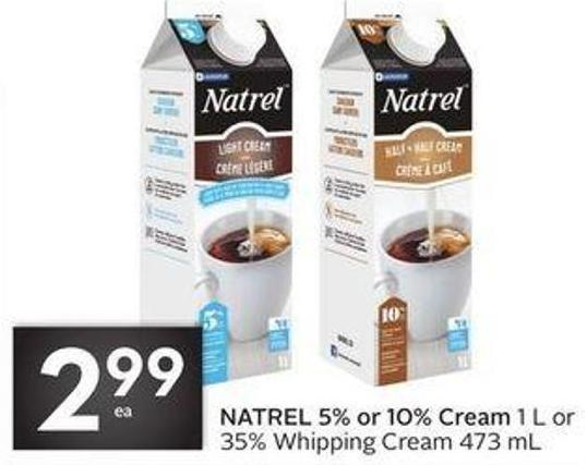 Natrel 5% or 10% Cream