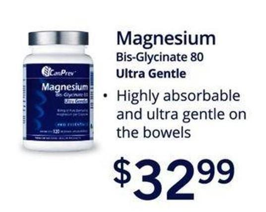Magnesium Bis-glycinate 80 Ultra Gentle