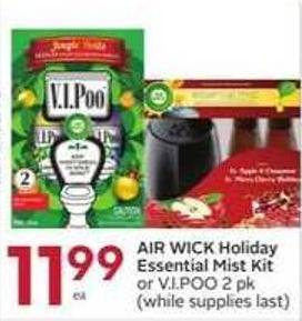 Air Wick Holiday Essential Mist Kit