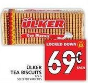 ÜLker Tea Biscuits