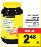 No Name Jam or Marmalade - 500 mL