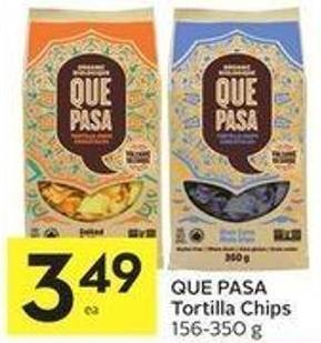 Que Pasa Tortilla Chips 156-350 g