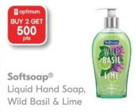 Softsoap Liquid Hand Soap Wild Basil & Lime