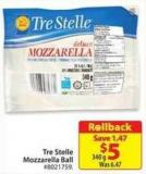 Tre Stelle Mozzarella Ball