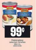 Franco Gravy - 284 mL