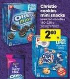 Christie Cookies Mini Snacks - 180-225 g