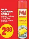 Pam Cooking Spray - 113-170 mL