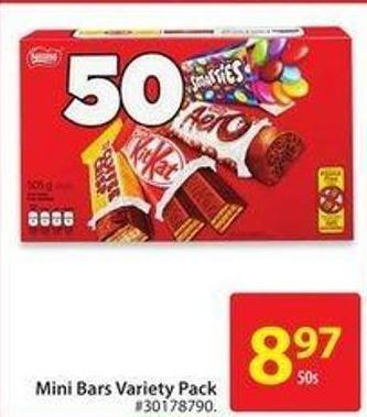 Mini Bars Variety Pack