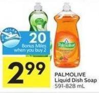 Palmolive Liquid Dish Soap 591-828 mL - 20 Air Miles Bonus Miles