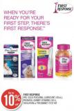 First Response Pre-seed Personal Lubricant (40ml) - Prenatal Gummy Vitamins (90's) - Ovulation or Pregnancy Test Kit
