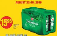 Heineken Beer - 6 X 500 mL