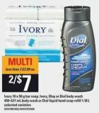 Ivory 10 X 90 G Bar Soap - Ivory - Olay Or Dial Body Wash 400-621 Ml Body Wash Or Dial Liquid Hand Soap Refill 1.18 L