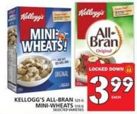 Kellogg's All-bran Or Mini-wheats