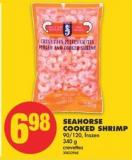 Seahorse Cooked Shrimp - 90/120 - 340 G