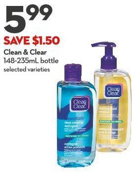 Clean & Clear 148-235ml Bottle